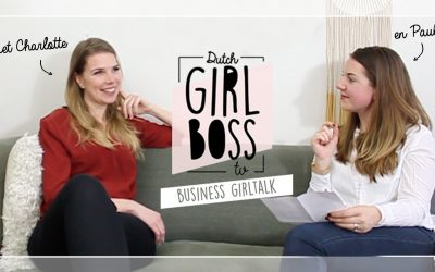 Business girltalk afl 4. met Charlotte van 't Wout